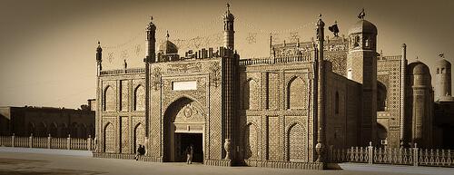 древняя Голубая мечеть в Афганистане