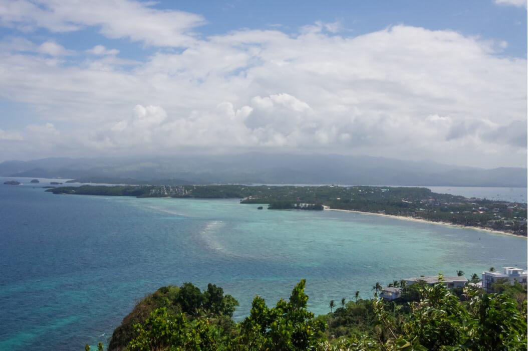 вид на остров Боракай