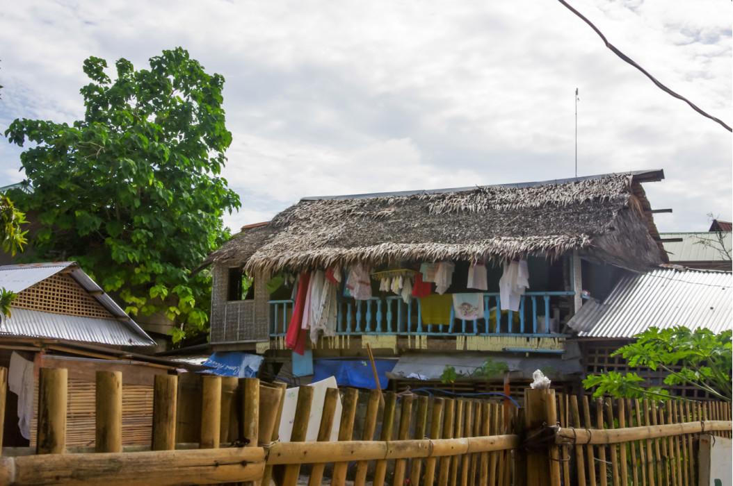 скромное жилье филиппинцев