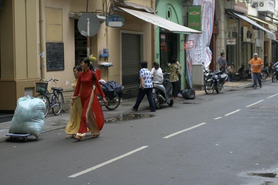 на вьетнамской улице