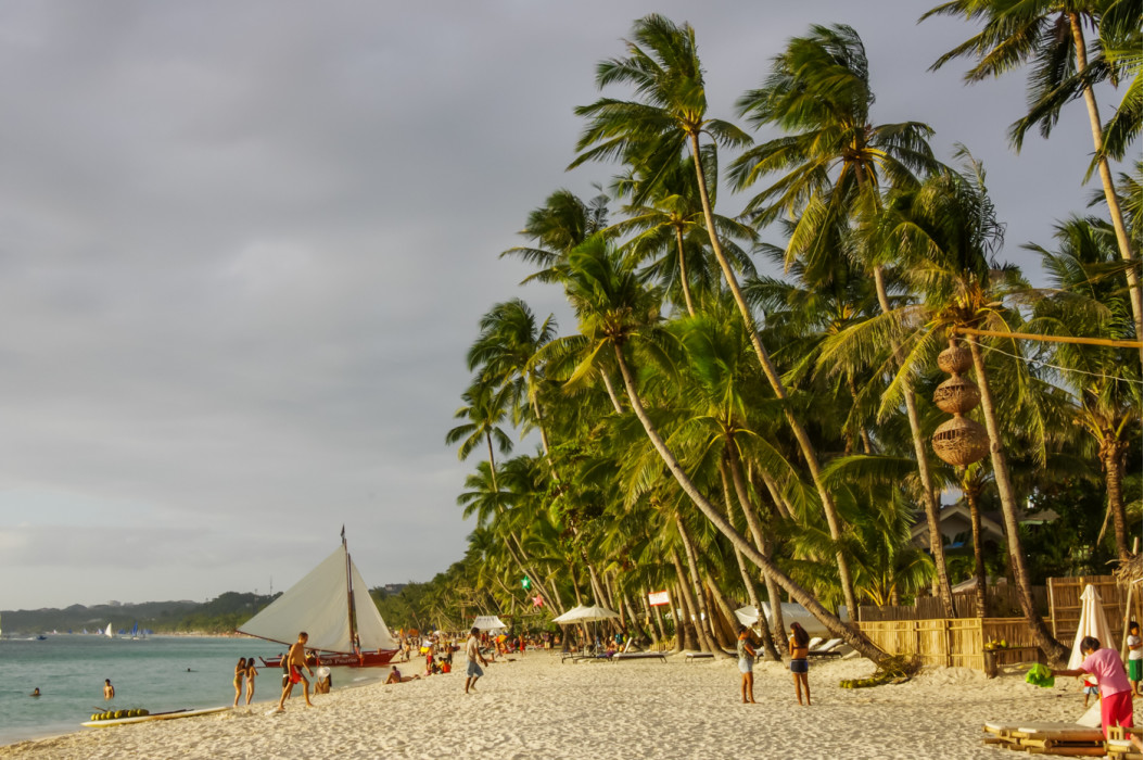жизнь на острове Боракай