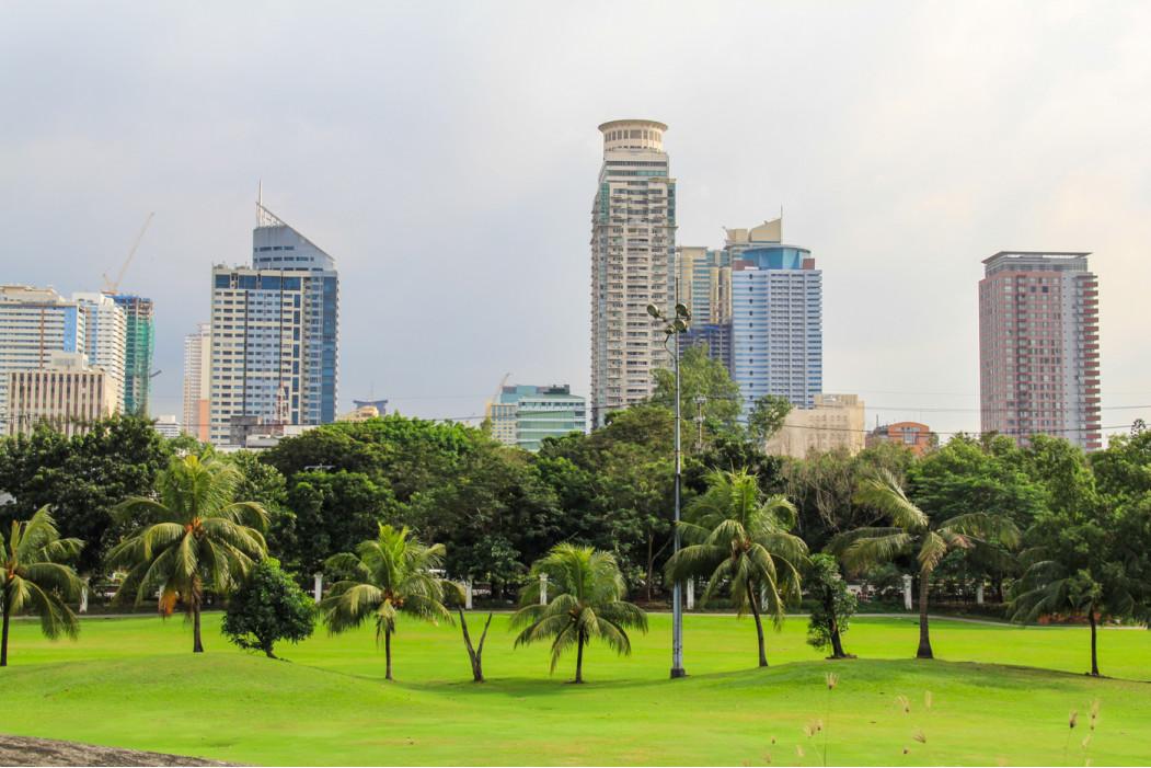 нам предоставили номер в 5-ти звездочном отеле в Маниле
