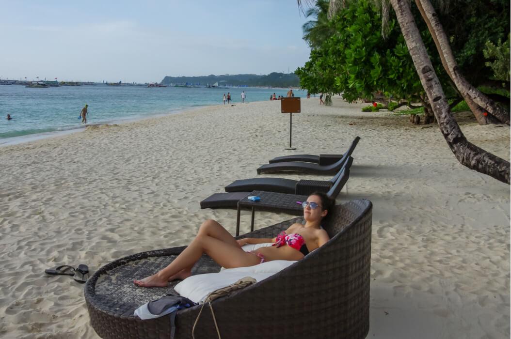 отдых на пляже Вайт бич