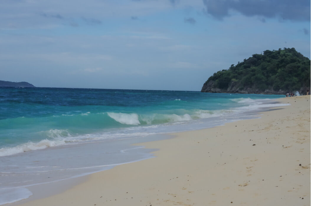 Пука бич на острове Боракай