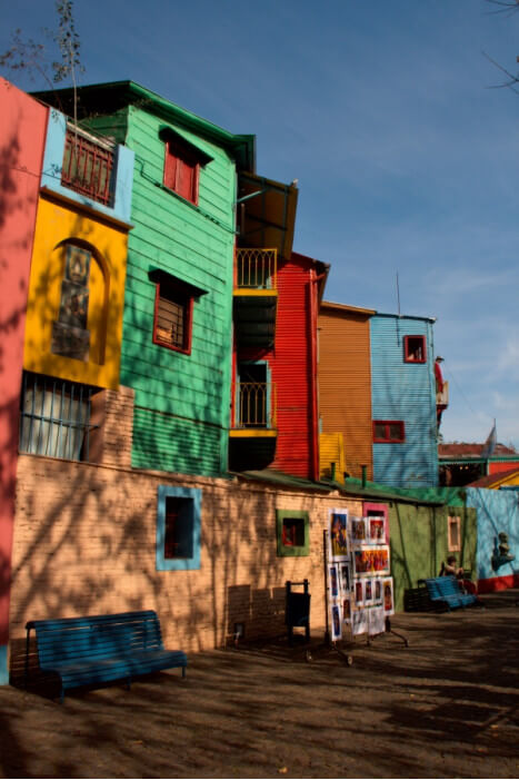 улица в Буэнос-Айрес, Аргентина