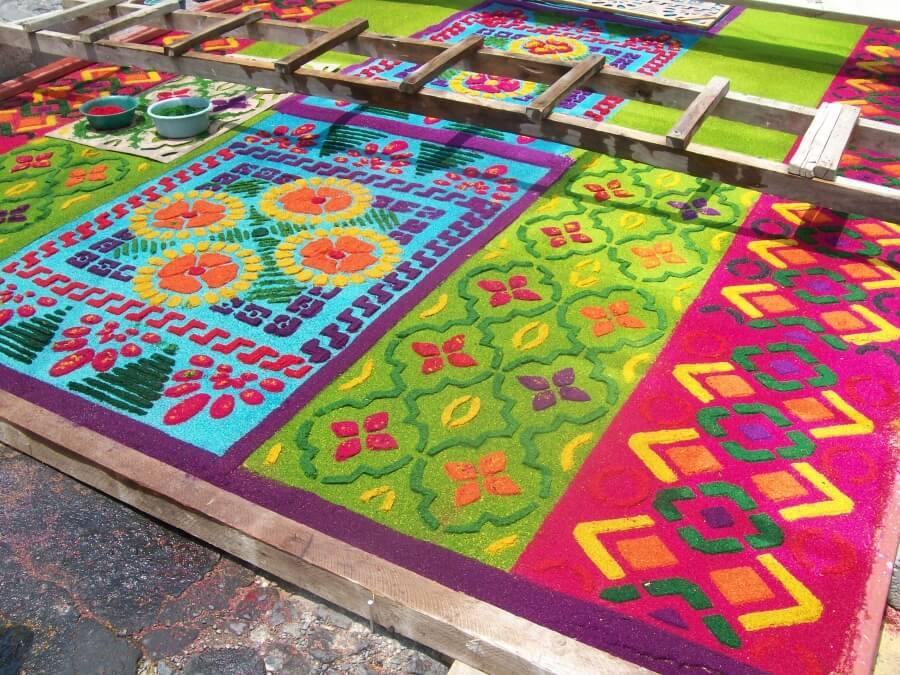 ковры в Гватемале
