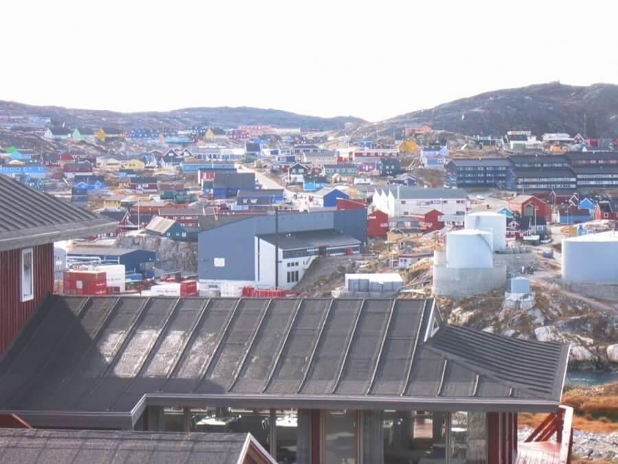 город в Гренландии