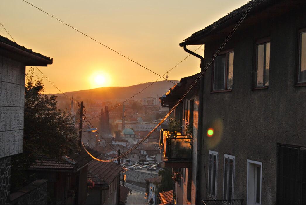 закат в Боснии и Герцеговине