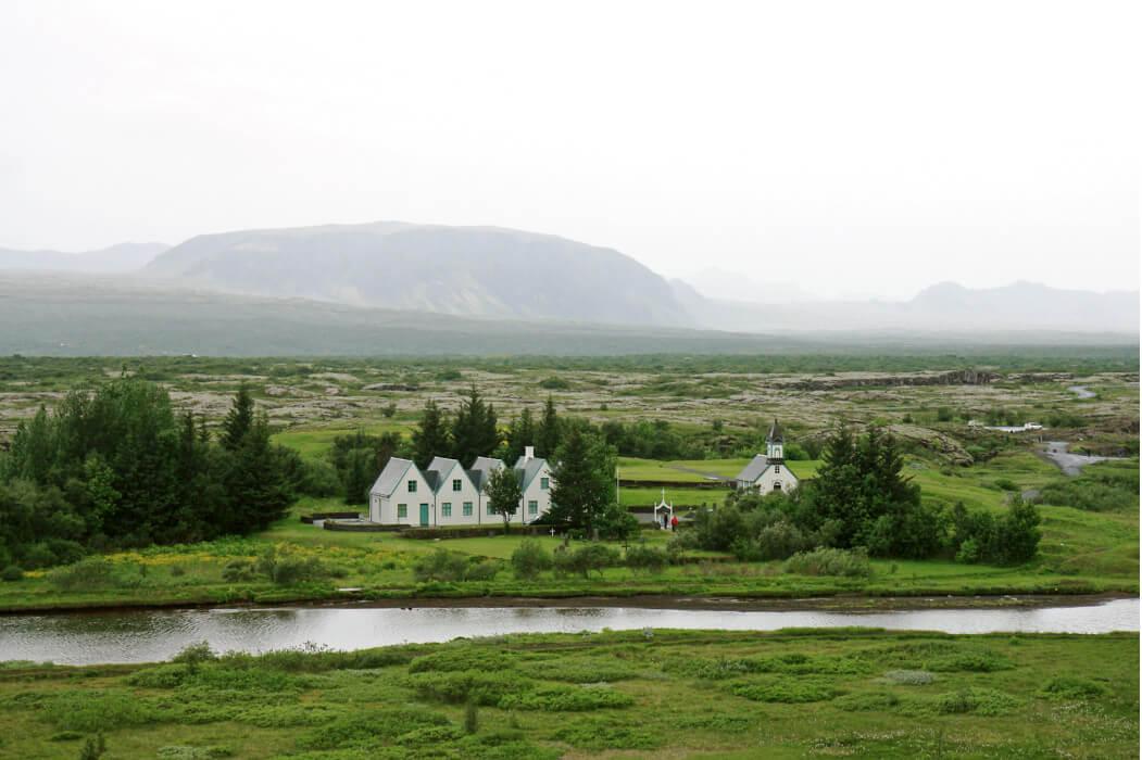 парк Тингвеллир в Исландии