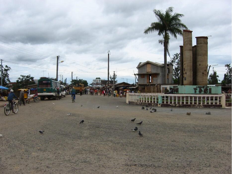 улица в Мадагаскаре