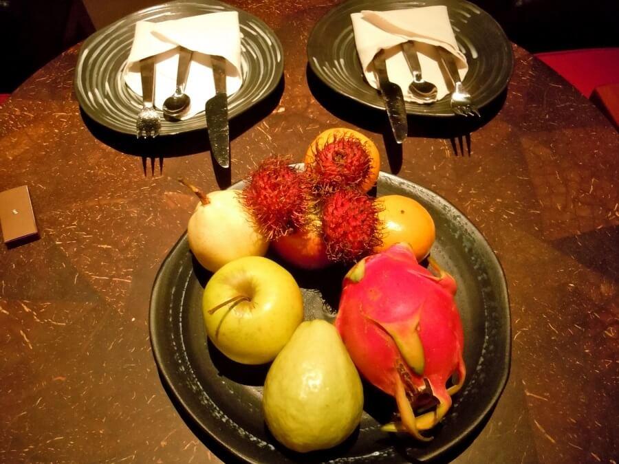 фрукты на Мальдивах