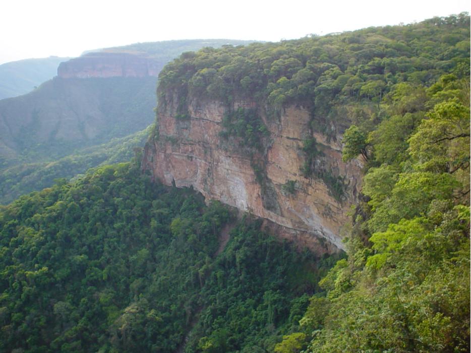 горы и джунгли в Бразилии