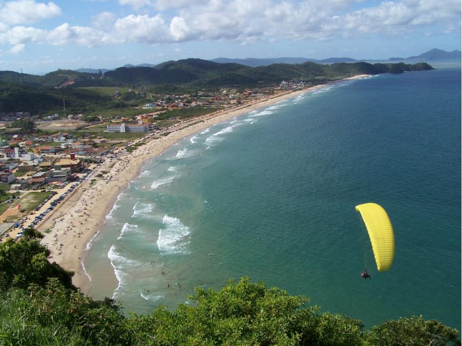 пляж Копакабана в Бразилии