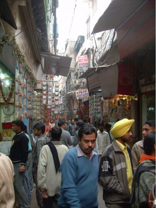 торговля на улицах в Индии