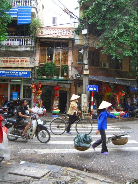 жизнь на улицах Ханоя, Вьетнам