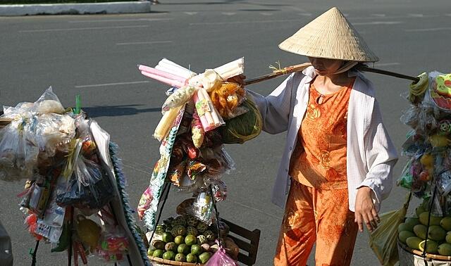вьетнамка в Ханое