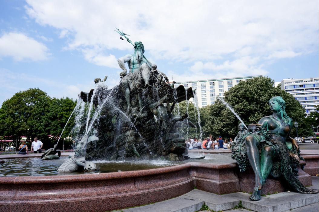 фонтан в Барселоне