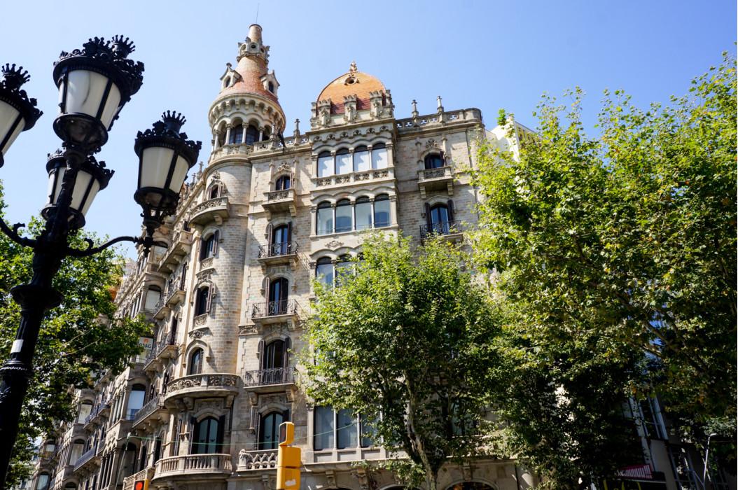 в Барселоне, Испания