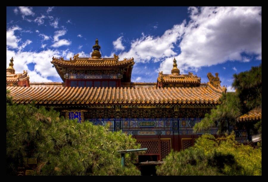ламаистский храм в Пекине
