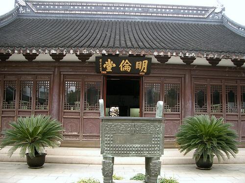 храм Конфуция в Шанхае