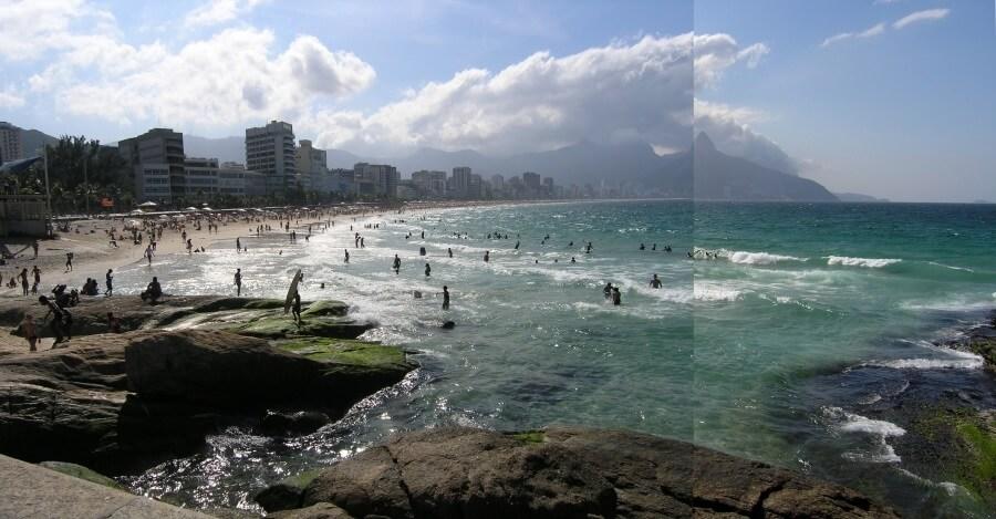 Рио-де-Жанейро, пляж Ипанема