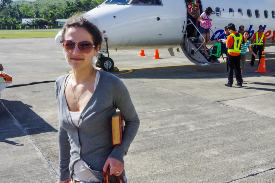 наше прибытие на Филиппины