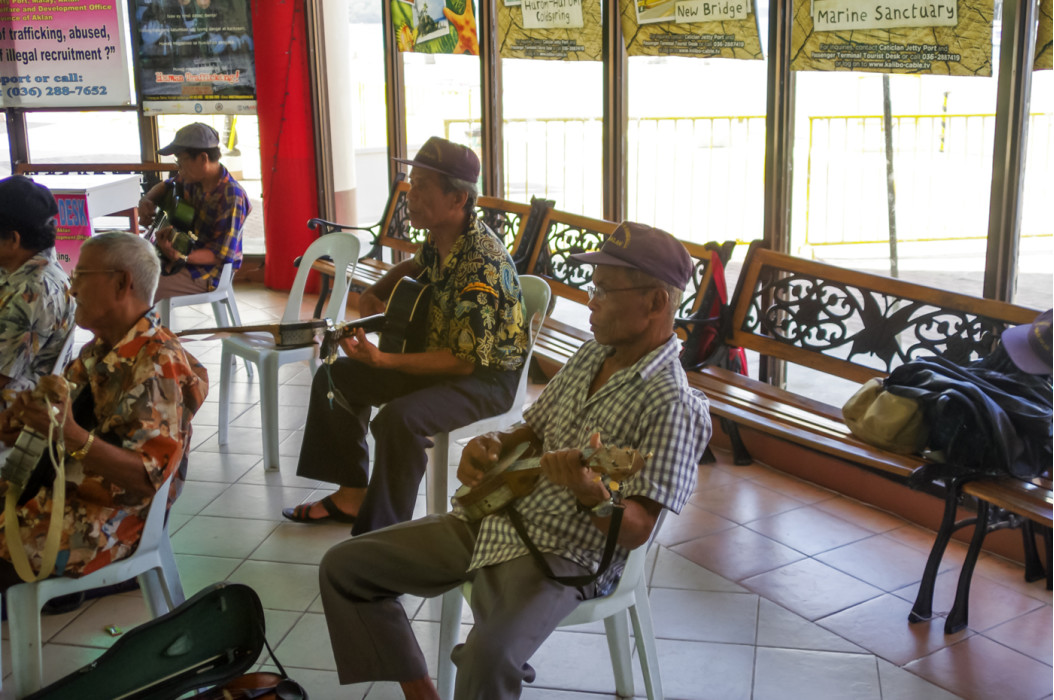 встреча в местном аэропорту Катиклан