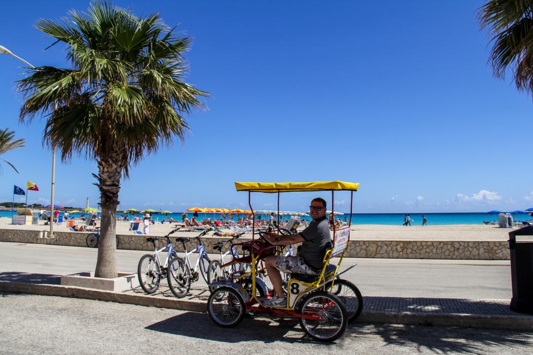 наши покатушки на велосипеде
