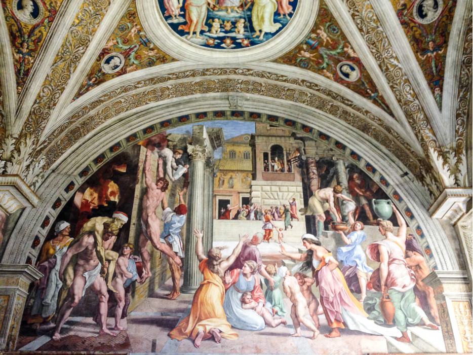фрески Ватикана