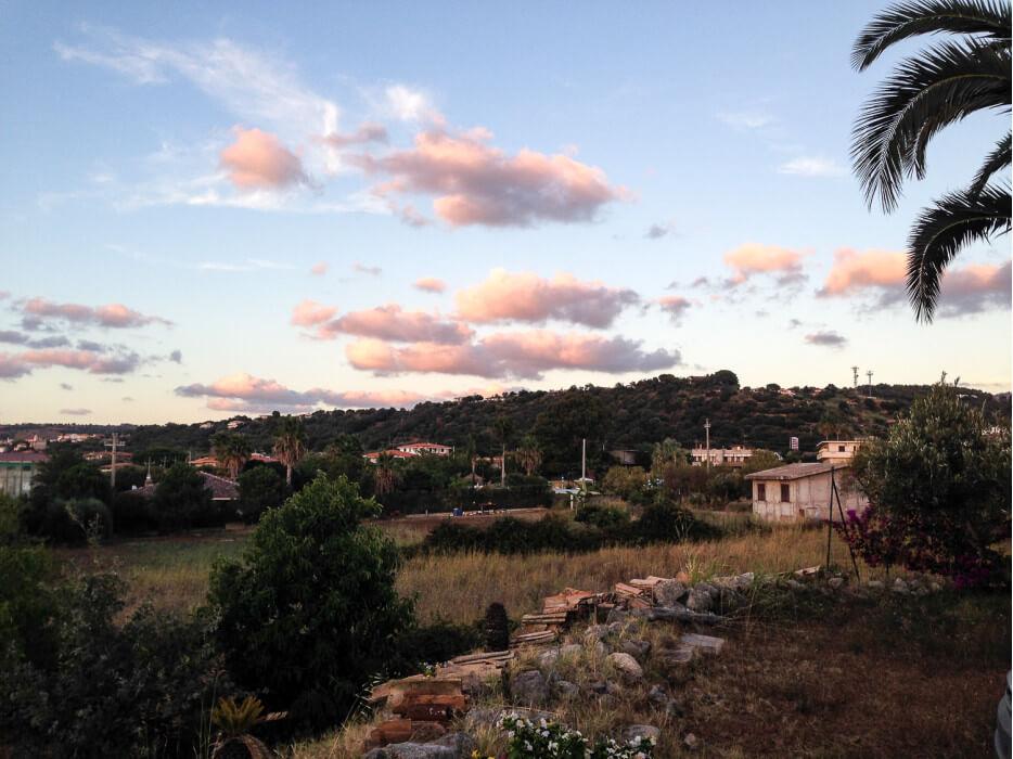 вид на местность Капо-Ватикано