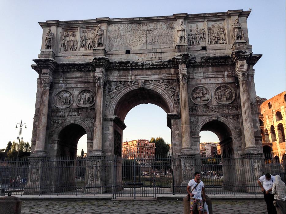 арка в Риме