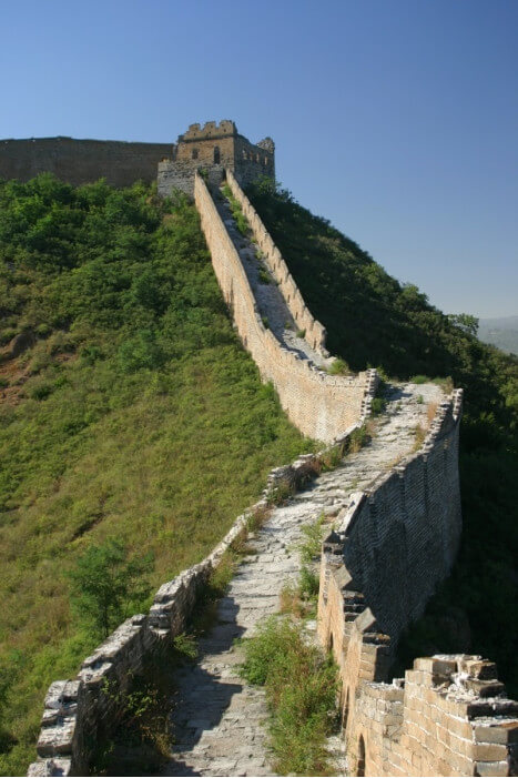 путешествие в Китай, Великая Китайская стена