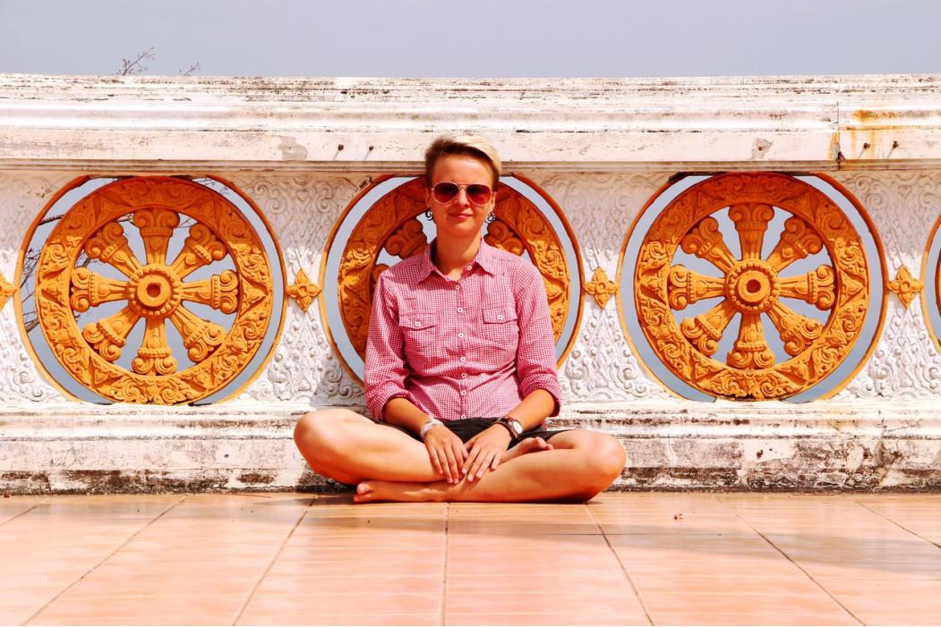 Женя Налегке, путешественница и автор блога Налегке