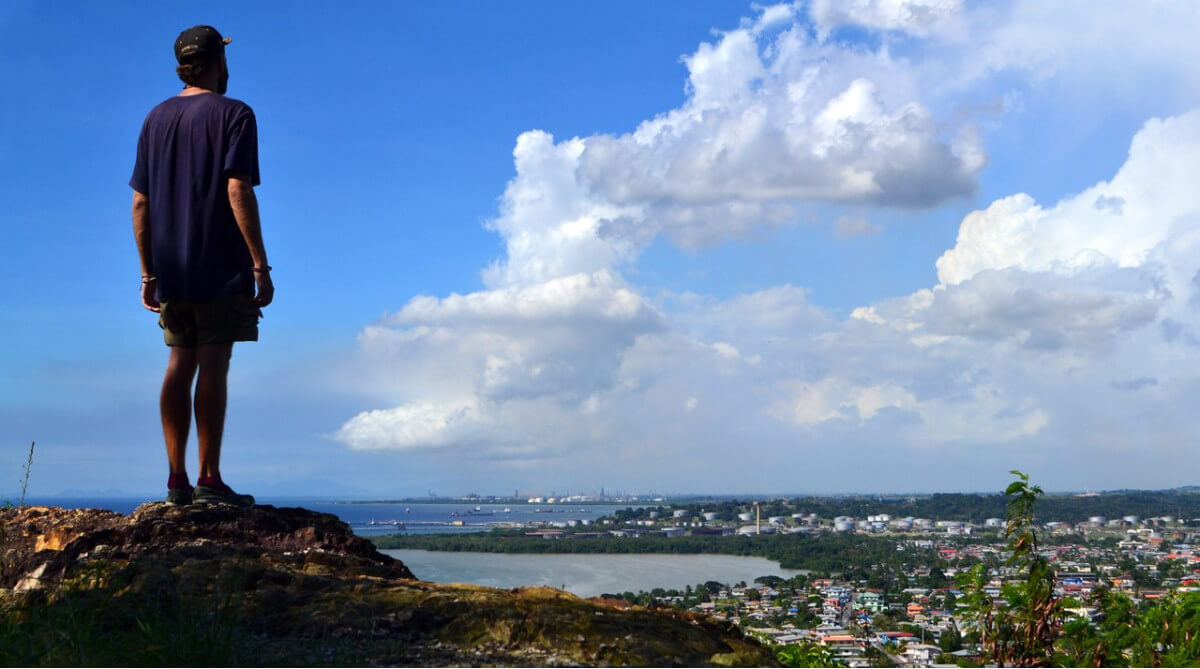 Никита Демин в Тринидаде