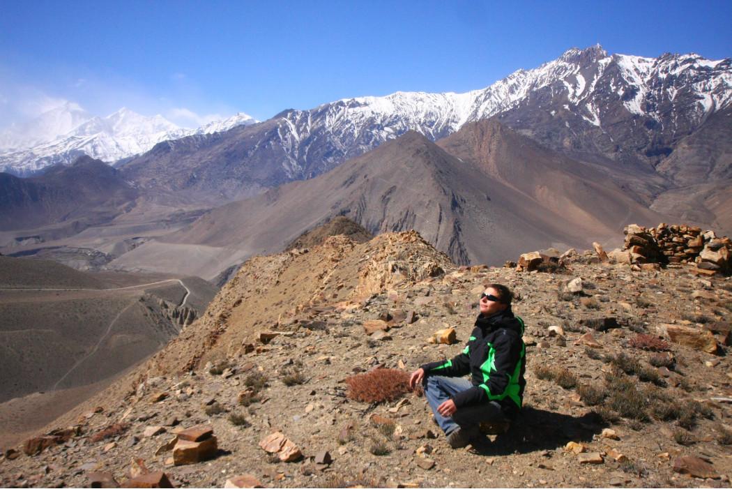 Павел Разумовский в Непале