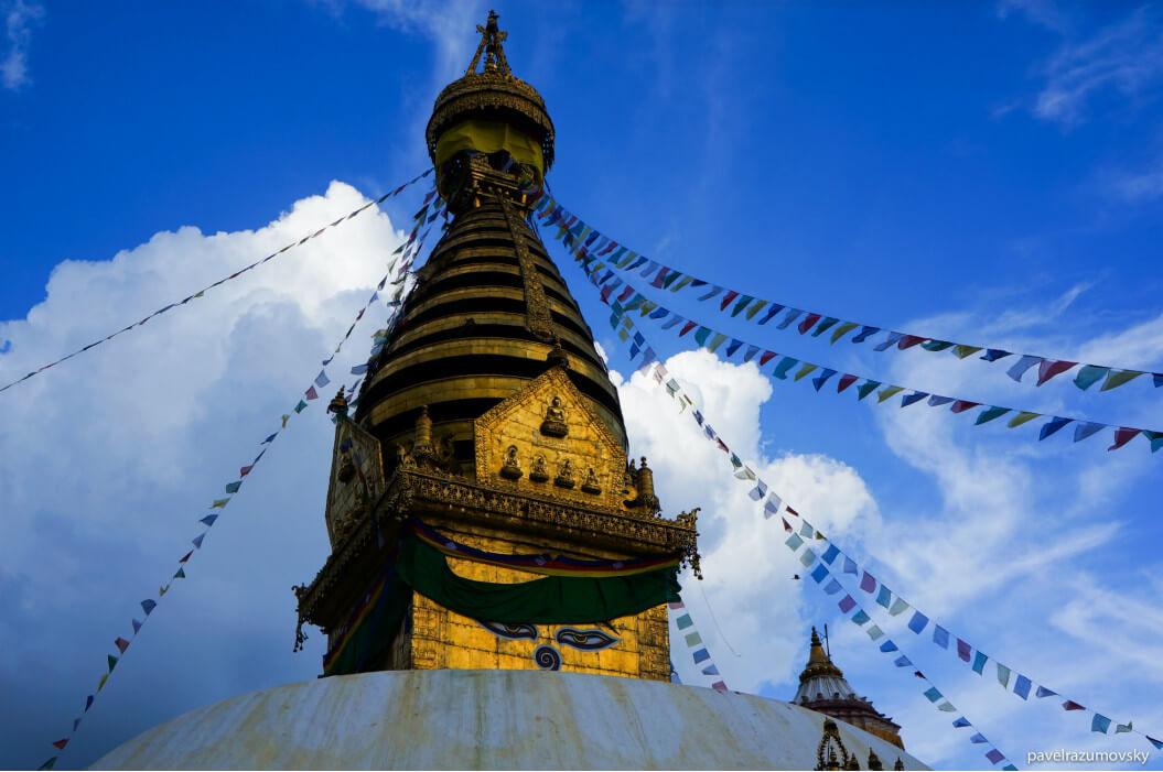ступа в Катманду