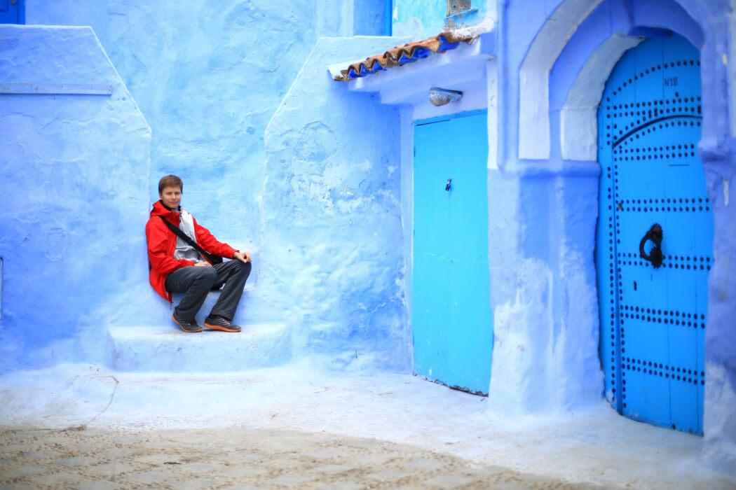 город Шефшауэн, Марокко